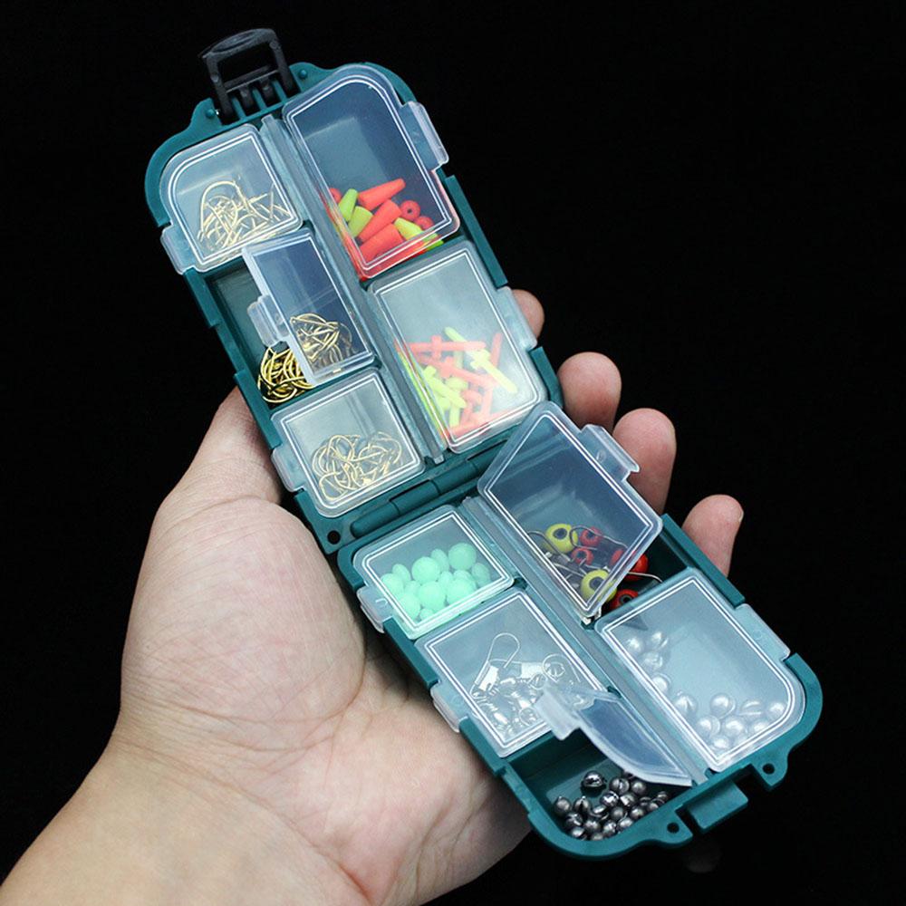 Ebay Uk: 157pcs Water-resistant Fishing Tackle Box Full Load Hook