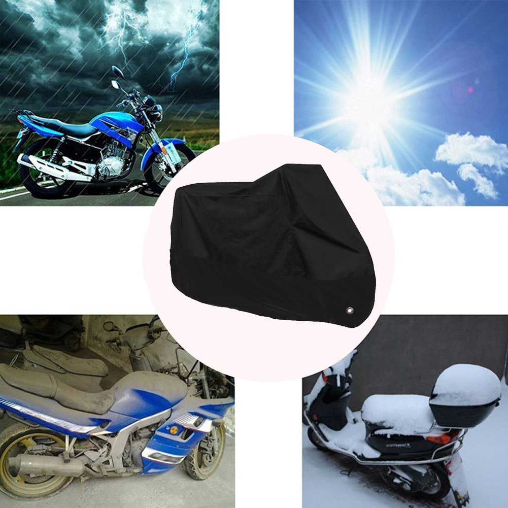 Waterproof MotorbikeDustproofCover All WeatherProtection Storage Shelter3XL