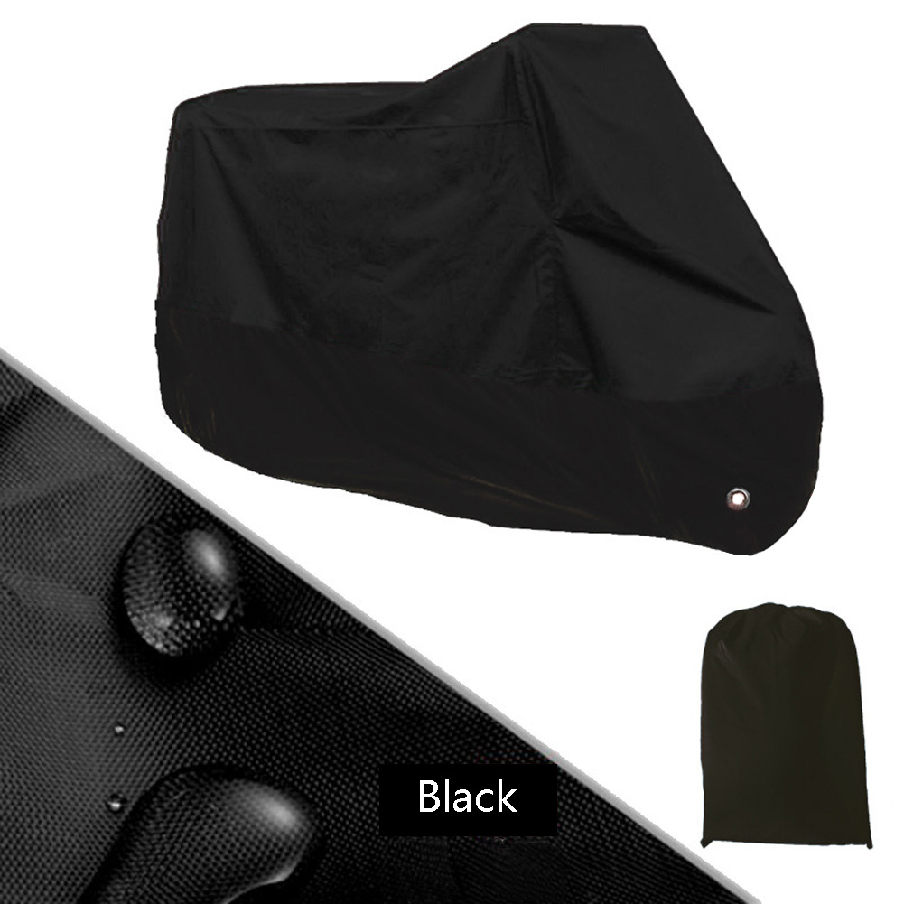 Waterproof Motorbike Dustproof Cover All WeatherProtection Storage ShelterL