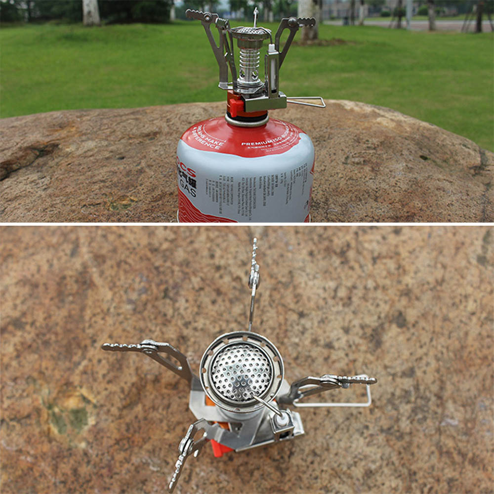 3000w Portable Outdoor Picnic Gas Burner Foldable Camping