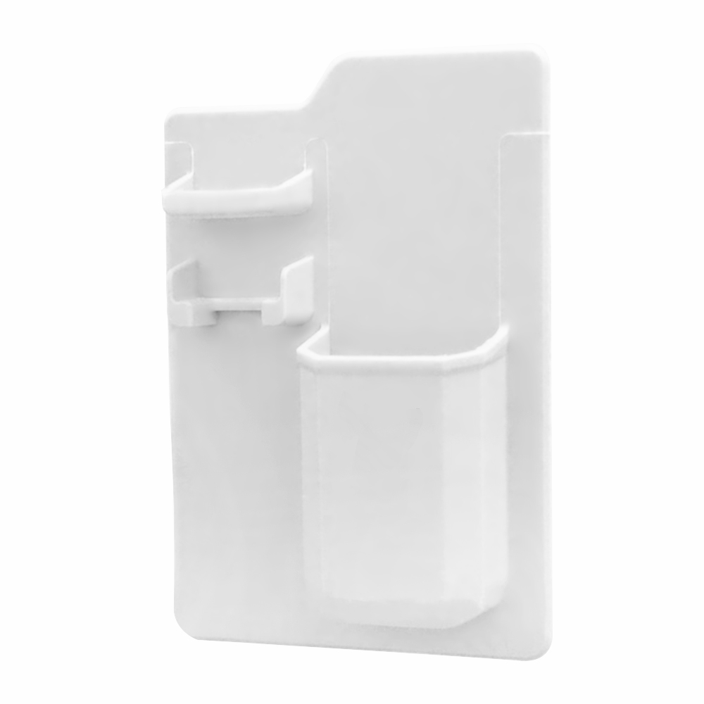 Silicone Toothbrush Toothpaste Holder Stand Razor Rack