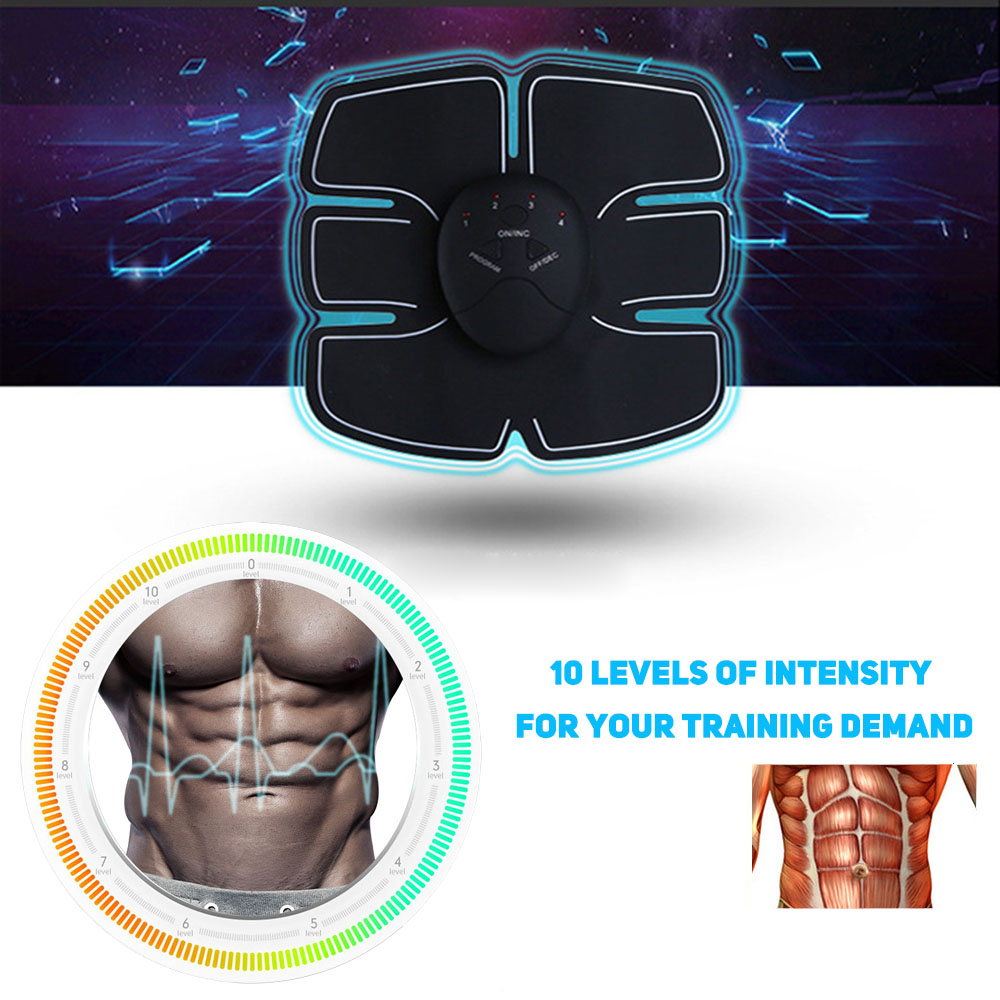 Abdoment MuscleTrainer Electric FitnessToner Belly Leg ArmWorkout Exerciser