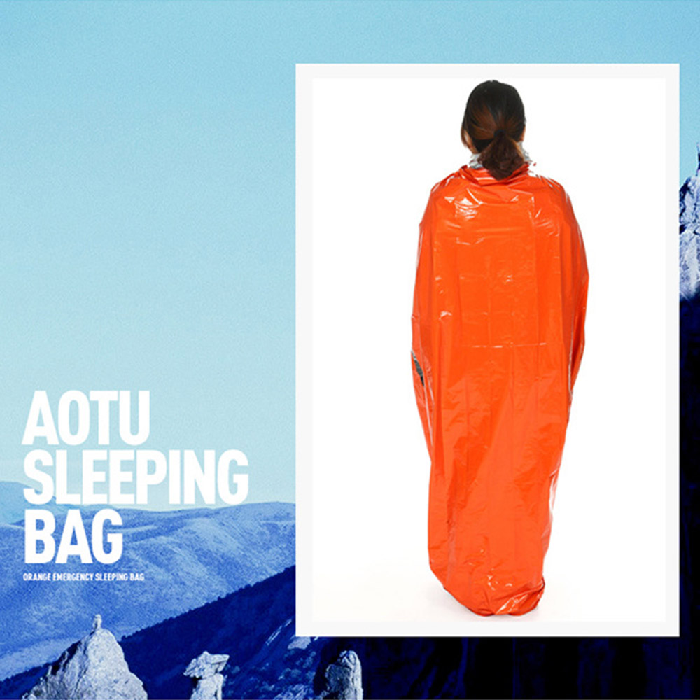 Outdoor Portable Multifunction Emergency Thermal CampingHiking Sleeping Bag