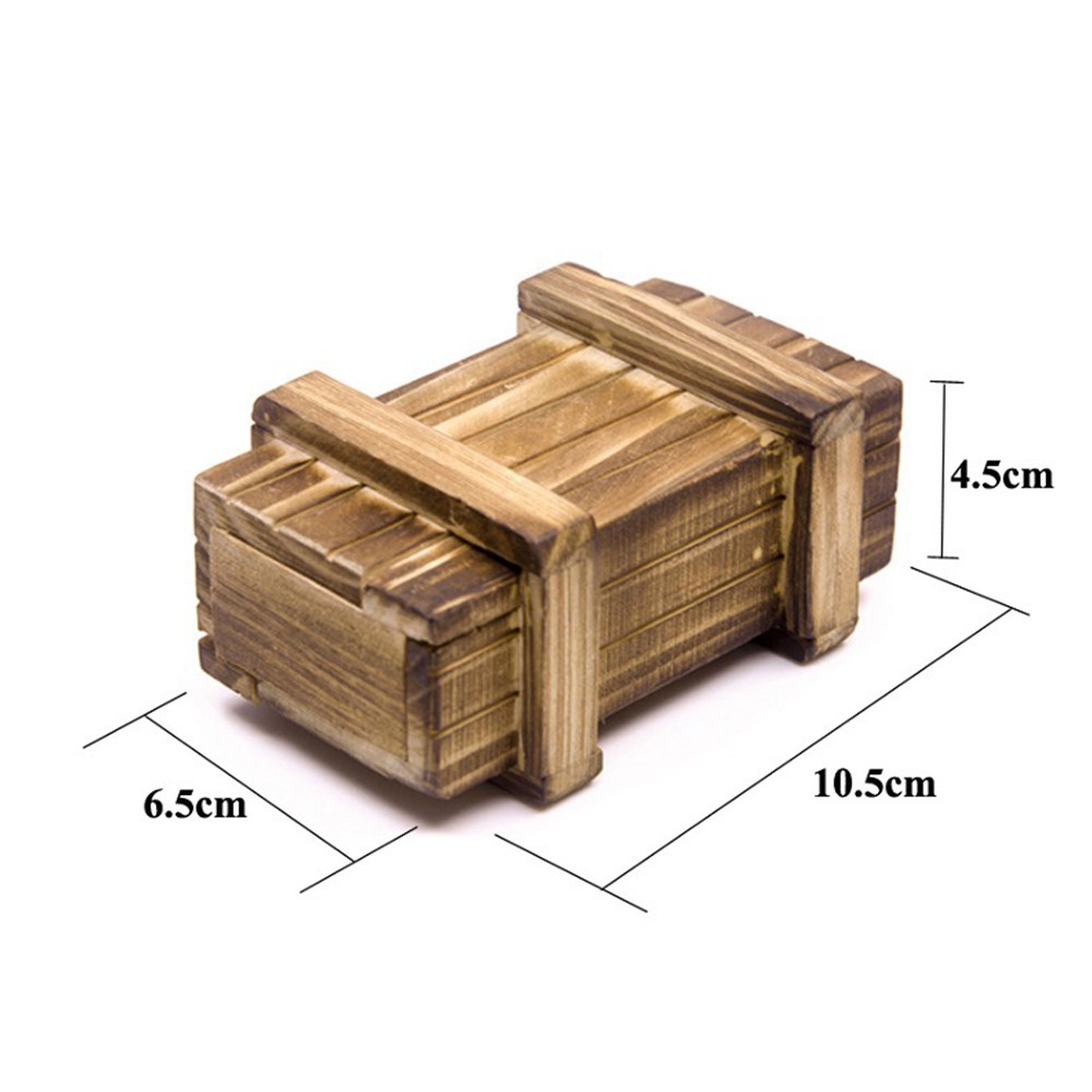 Wooden Box for 1/10 Axial SCX10 RC4WD D90 D110 CC01 TRX-4 RC Car Truck