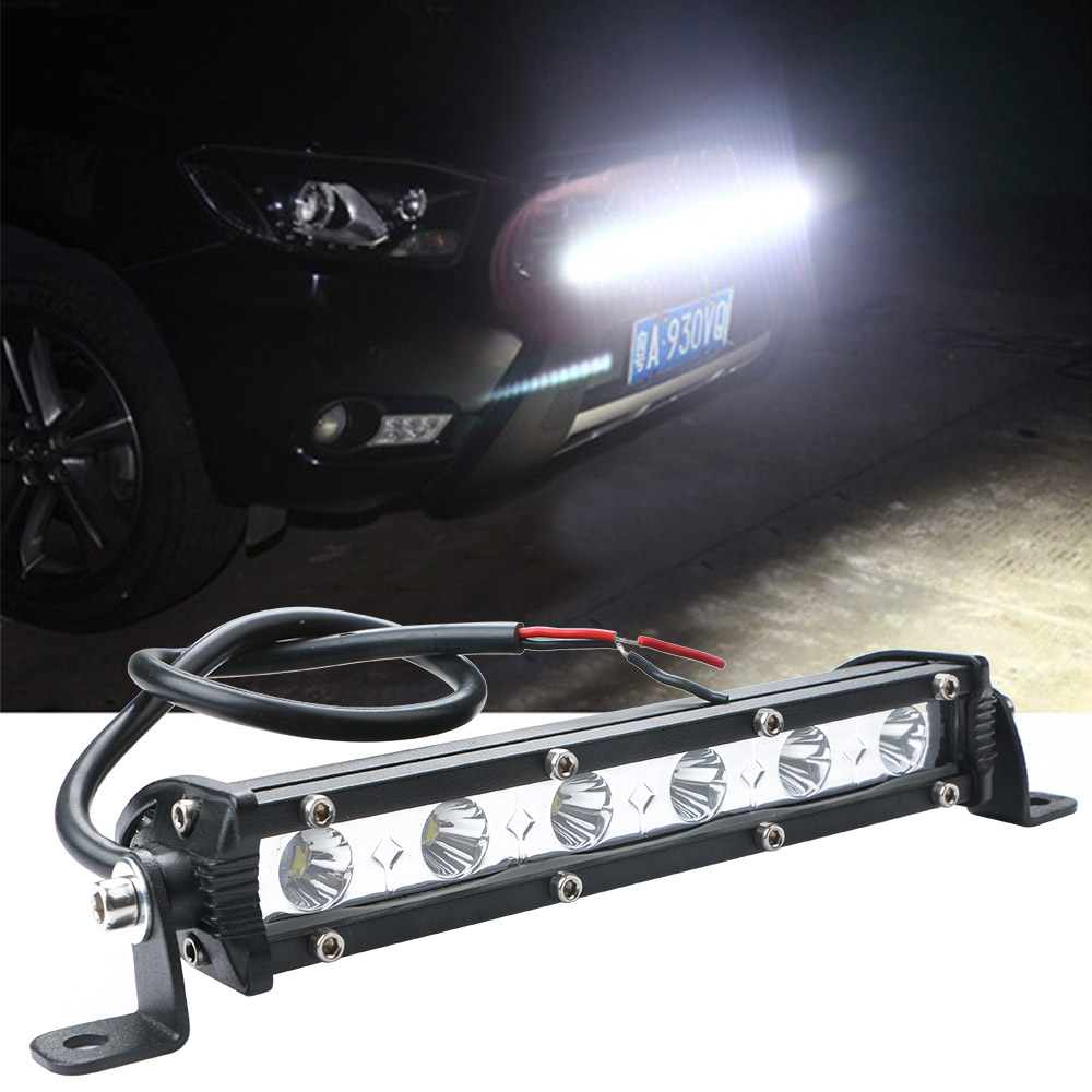 18W 6LED Spot Light Bar Car Spotlight Offroad Work Lamp for Jeep SUV