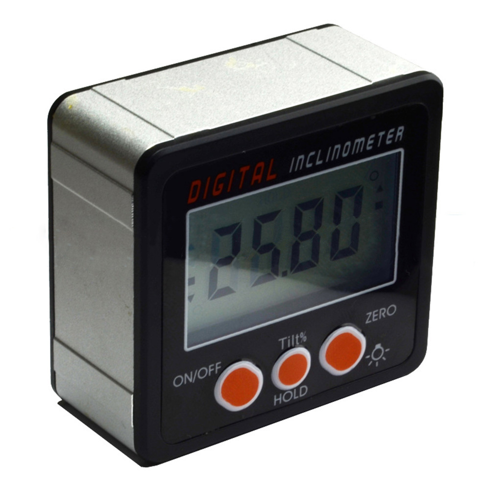 4x90�Digital Bevel Box Inclinometer Angle Gauge Meter Protractor Finder