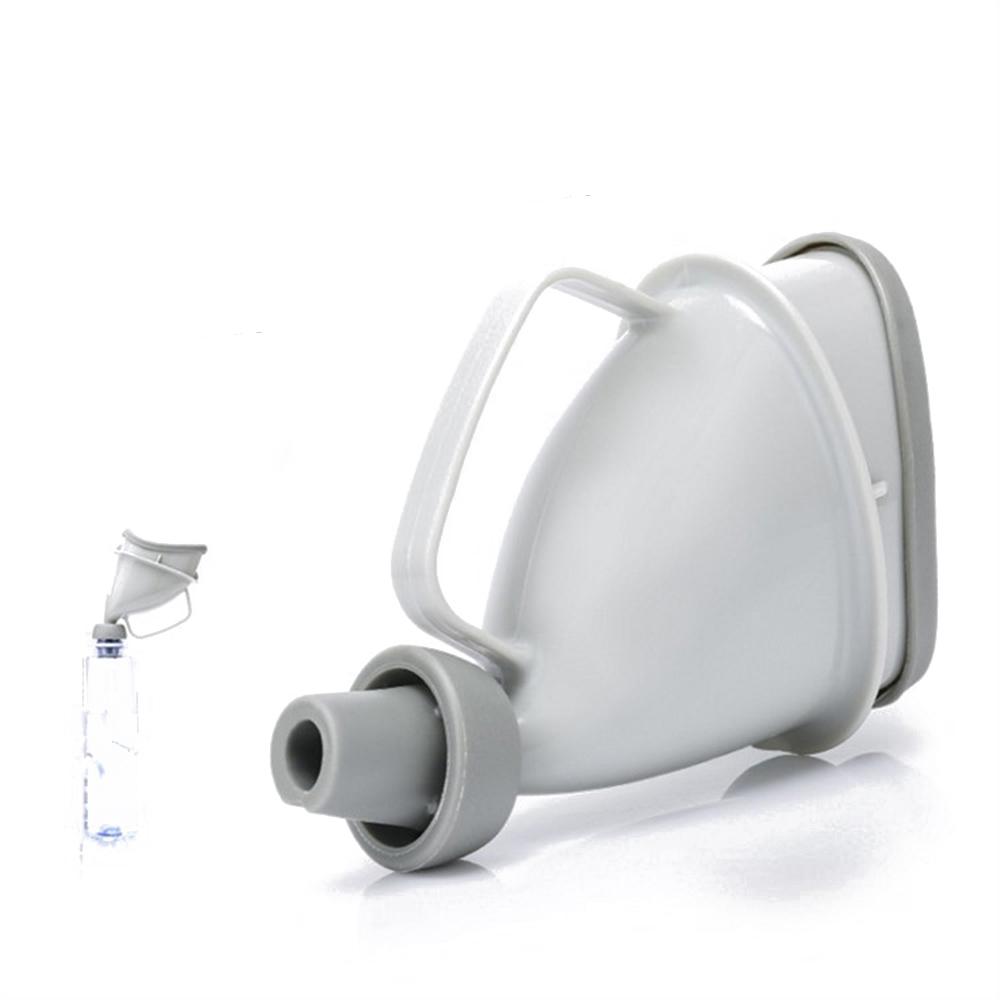 Portable Unisex Car Handle Urine Bottle Urinal Funnel Tube Urination Toilet