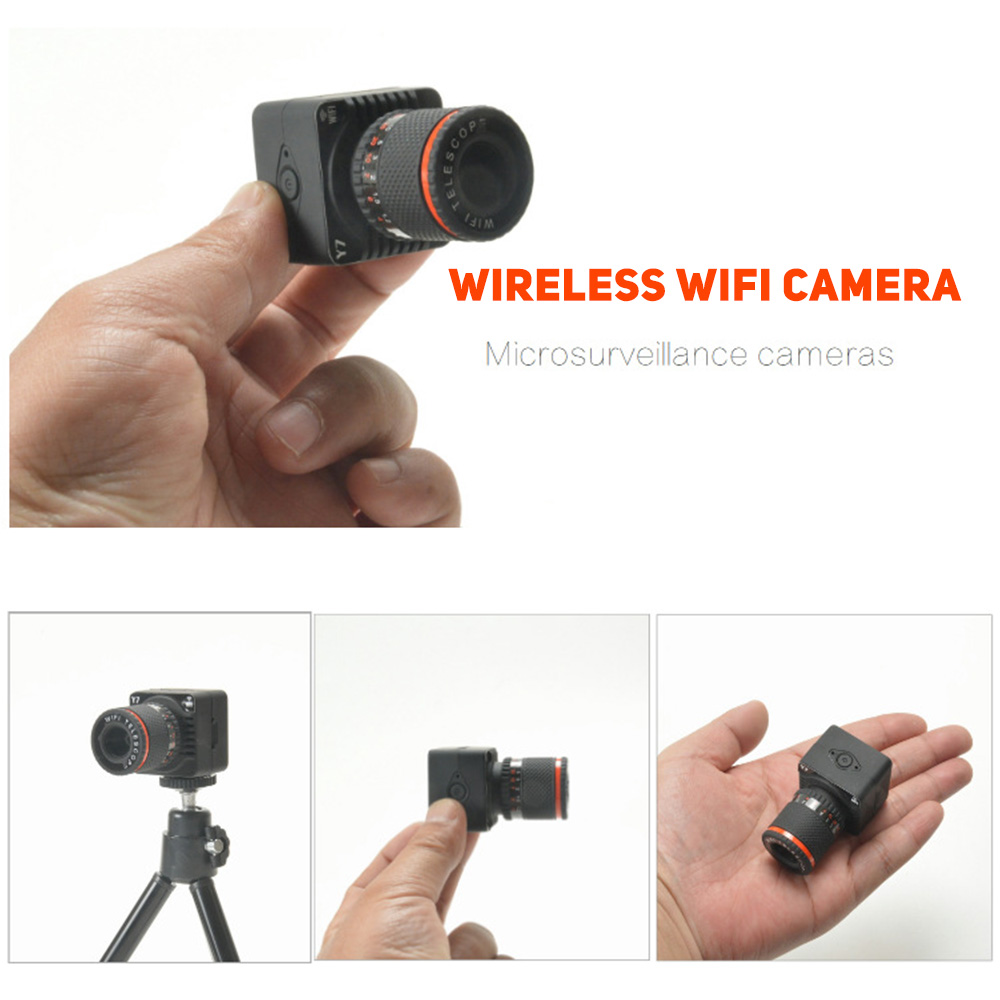 New Mini HD Wireless Wifi Camera DVR Video PIR Cam Recorder Night Vision