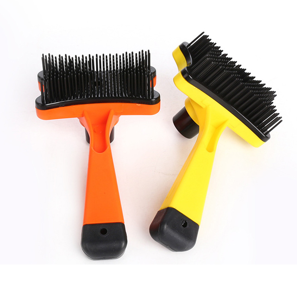 Pet-Grooming-Comb-For-Pet-Cats-Dogs-Deshedding-Trimmer-Grooming-Massage-Rak thumbnail 5