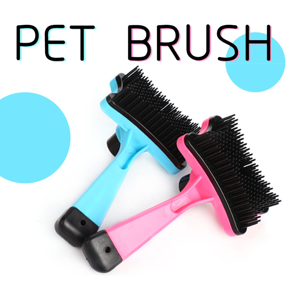 Pet-Grooming-Comb-For-Pet-Cats-Dogs-Deshedding-Trimmer-Grooming-Massage-Rak thumbnail 7