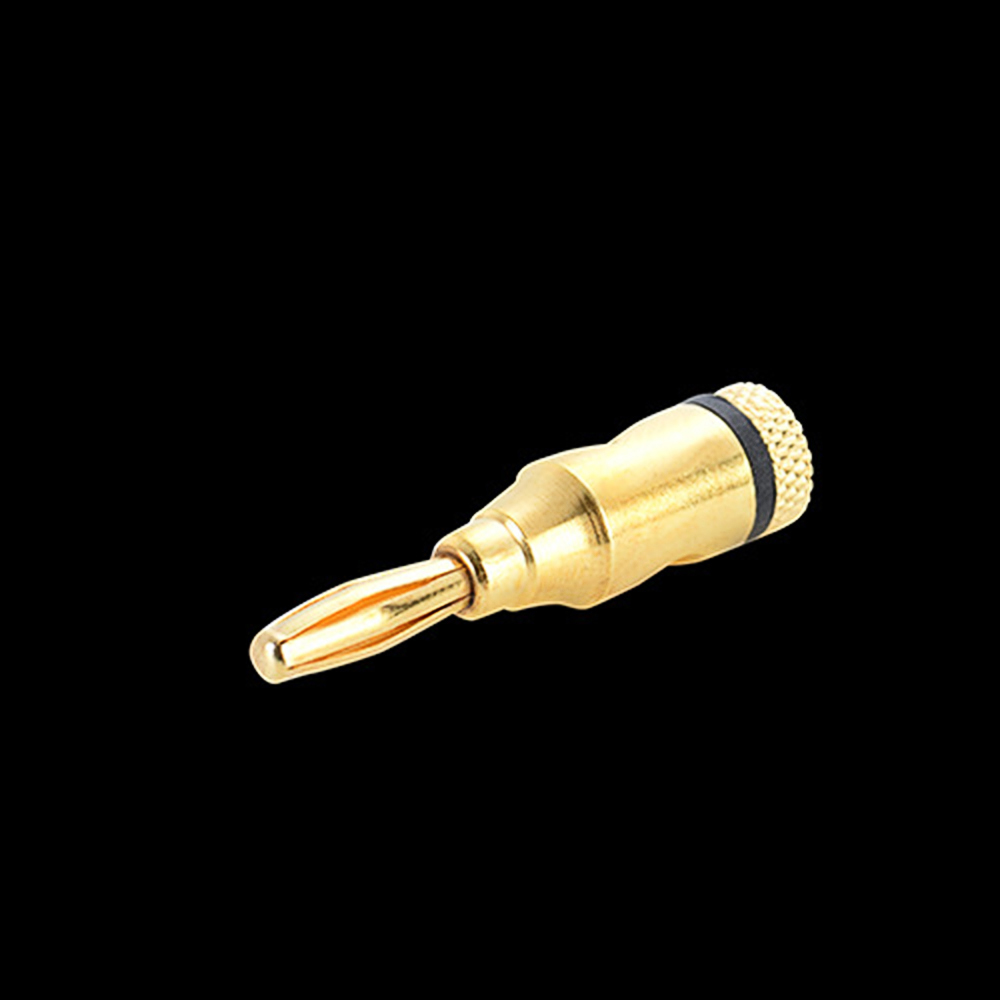 Gold Plated Banana Plug Closed Screws Connectors for Speaker Wire 20pcs 4mm