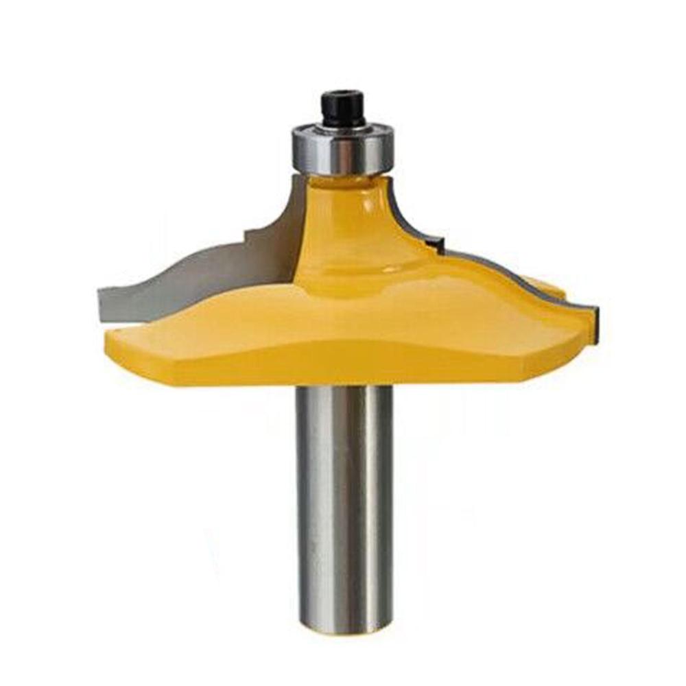 Round Angle Lock Miter Router Bit Wood Cutter 1/2inch Shank 12.7mm Diameter