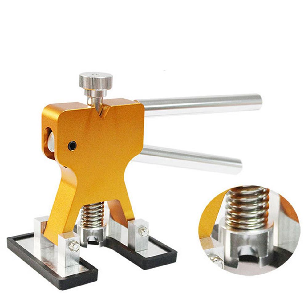 PDR Tools Dent Bridge Puller Kit PDR Golden Dent Lifter W/24pcs Red GlueTap