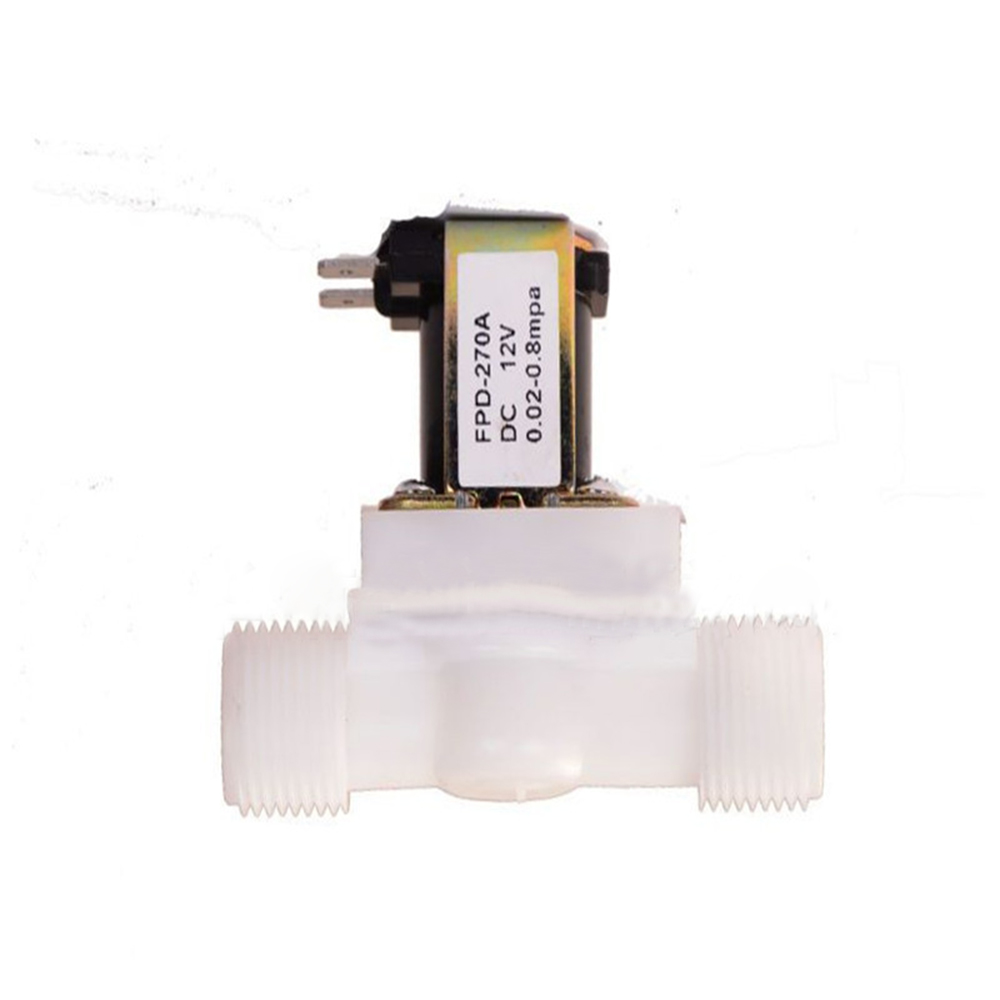 Wholesale Water Solenoid Valve Electric Magnetic 12V N/C Air Inlet Flow Switch 1/2In