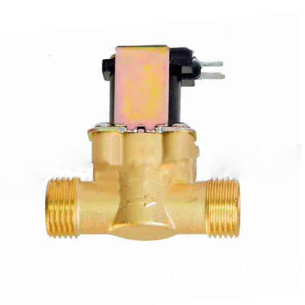 Wholesale Copper Water Solenoid Valve Electric 24V N/C Air Inlet Flow Switch 1/2Inch
