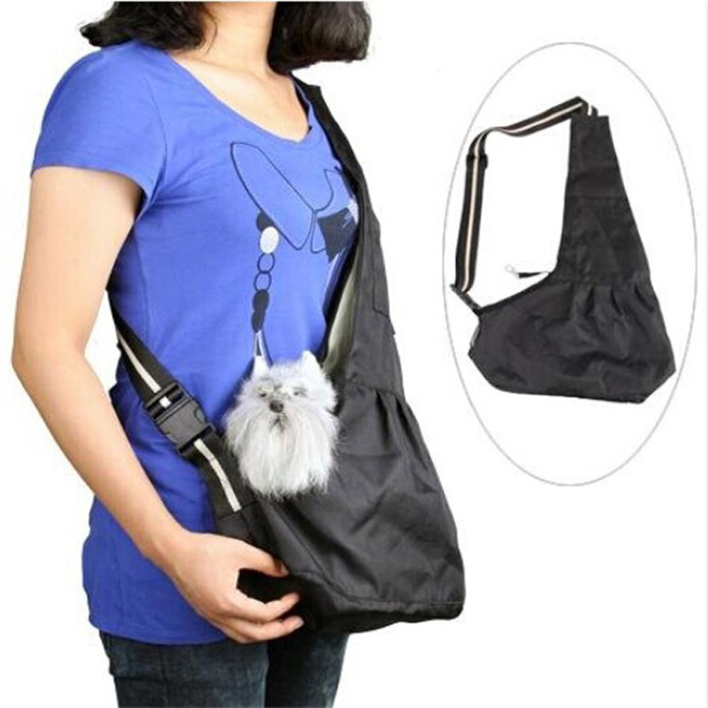 Pet Carrier Pet Sling Front Pack Dog Puppy Carrying Travel Bag Tote Bag