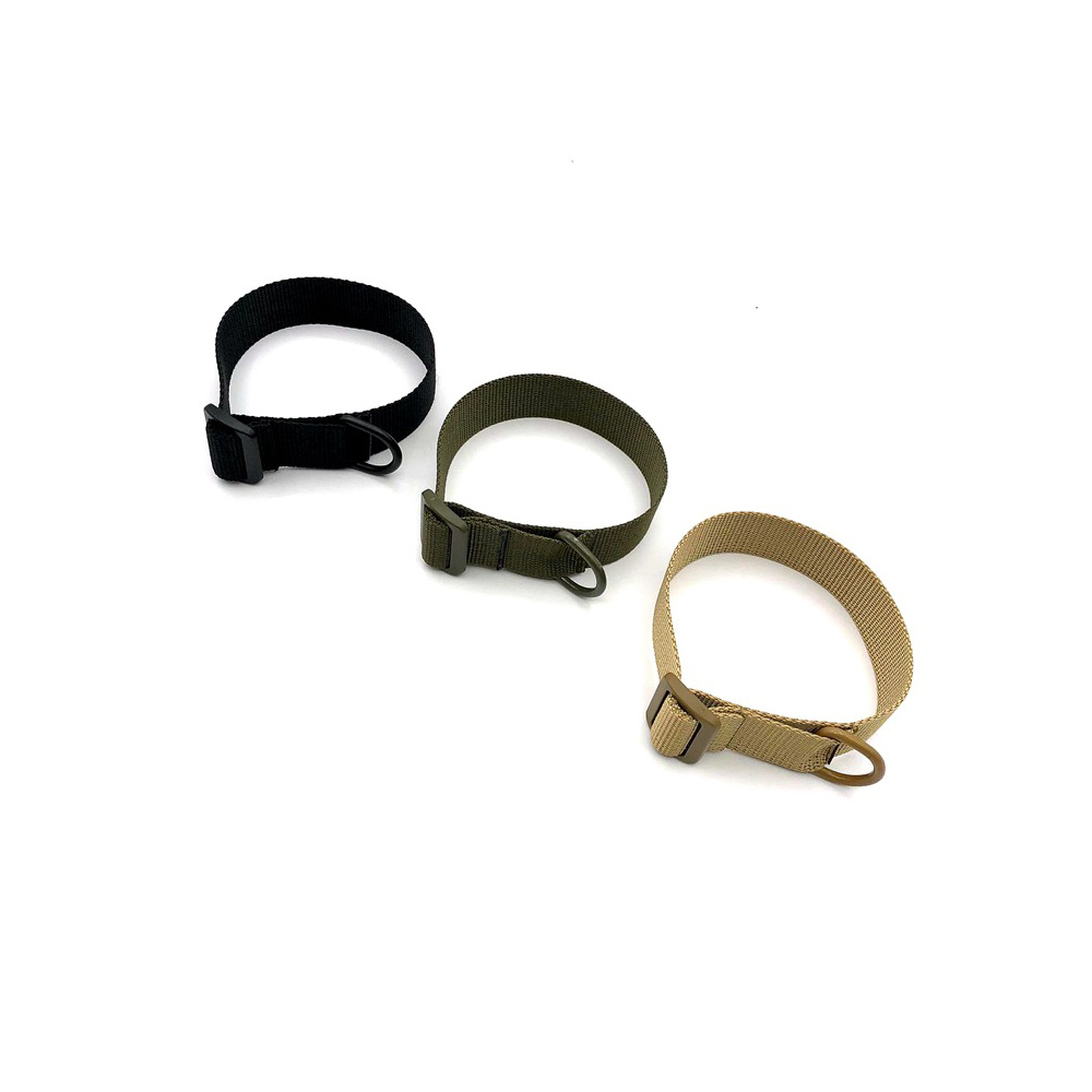 Adjustable Tactical Sling Strap Heavy Duty One Single Point Belt W/D-ring