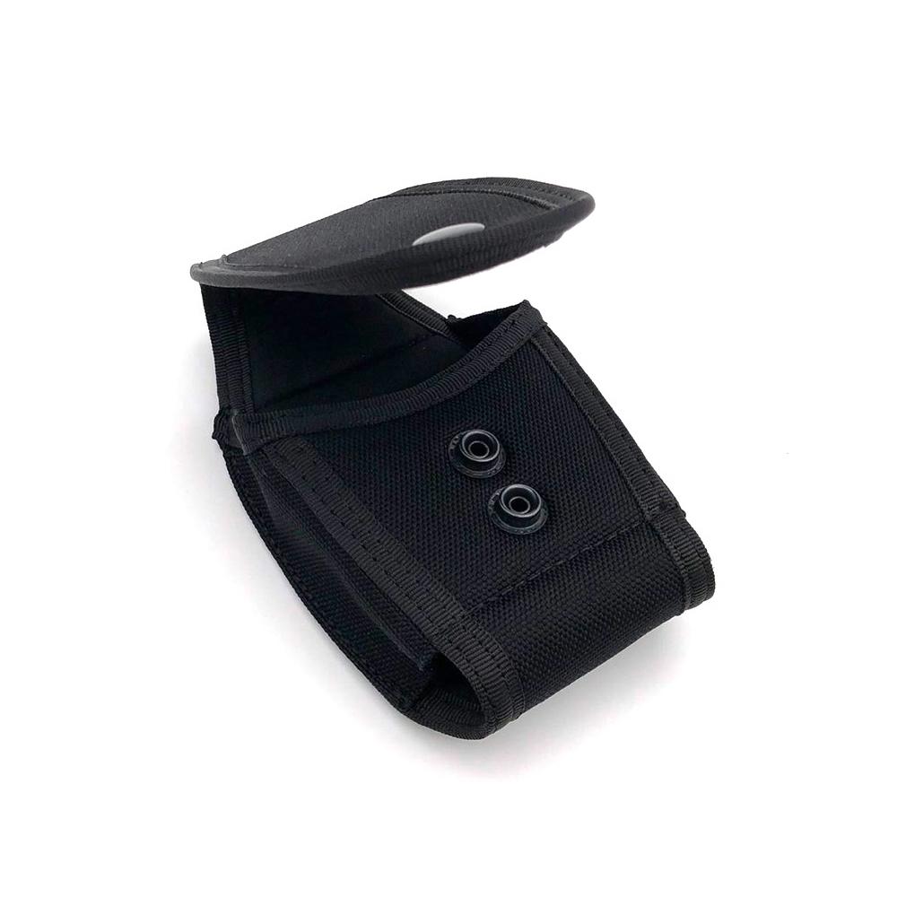 Single Handcuff Case Police Security Duty Nylon Handcuff Pouch Case Black