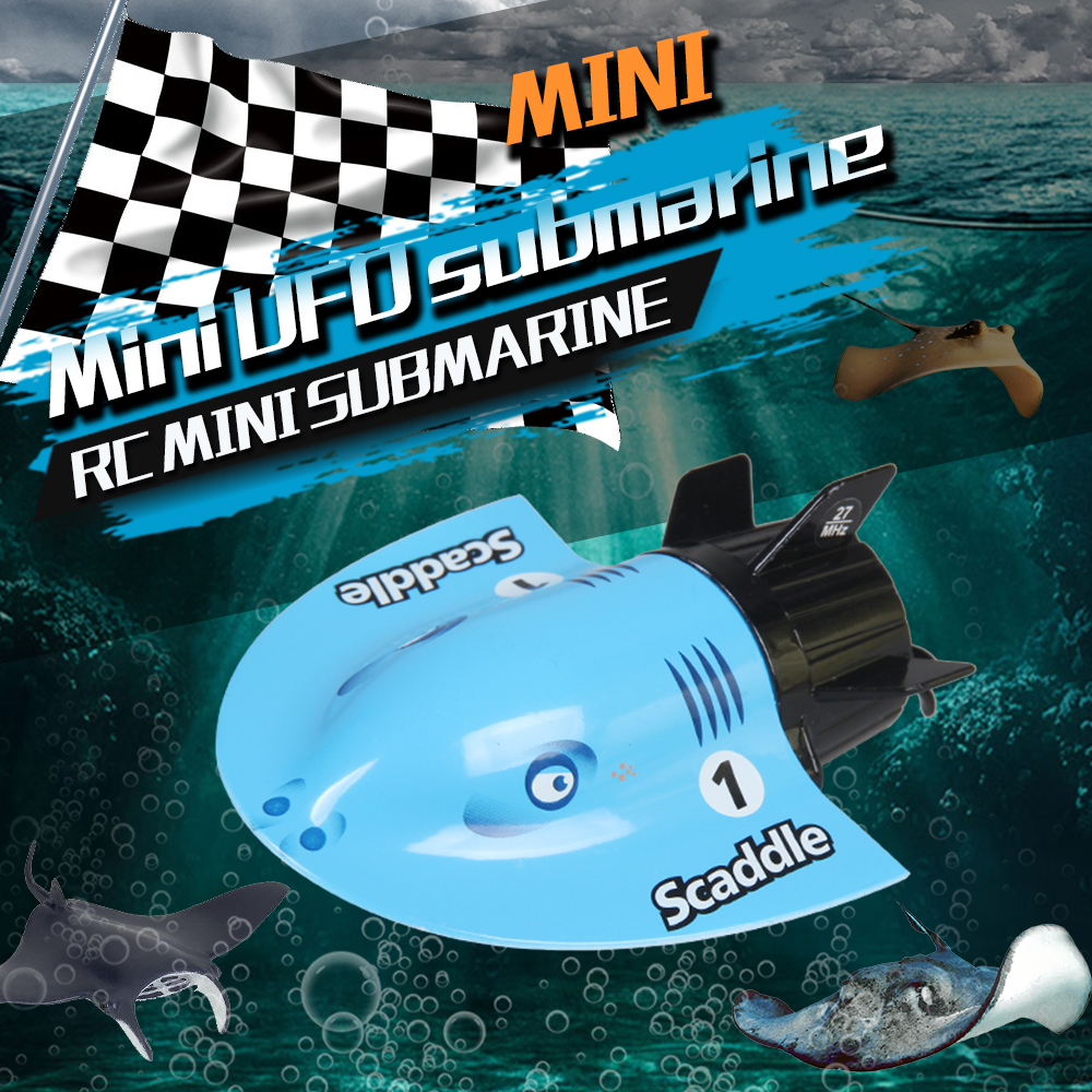 3314M Electric Mini Tourist Submarine RC Remote Control Racing Boat Toy