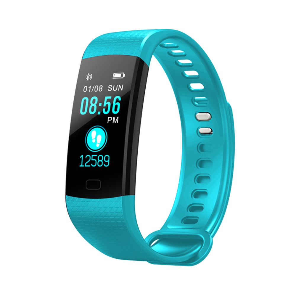Wholesale Fitness Tracker Wireless Bluetooth Track Watch W/Heart Rate Monitor Green
