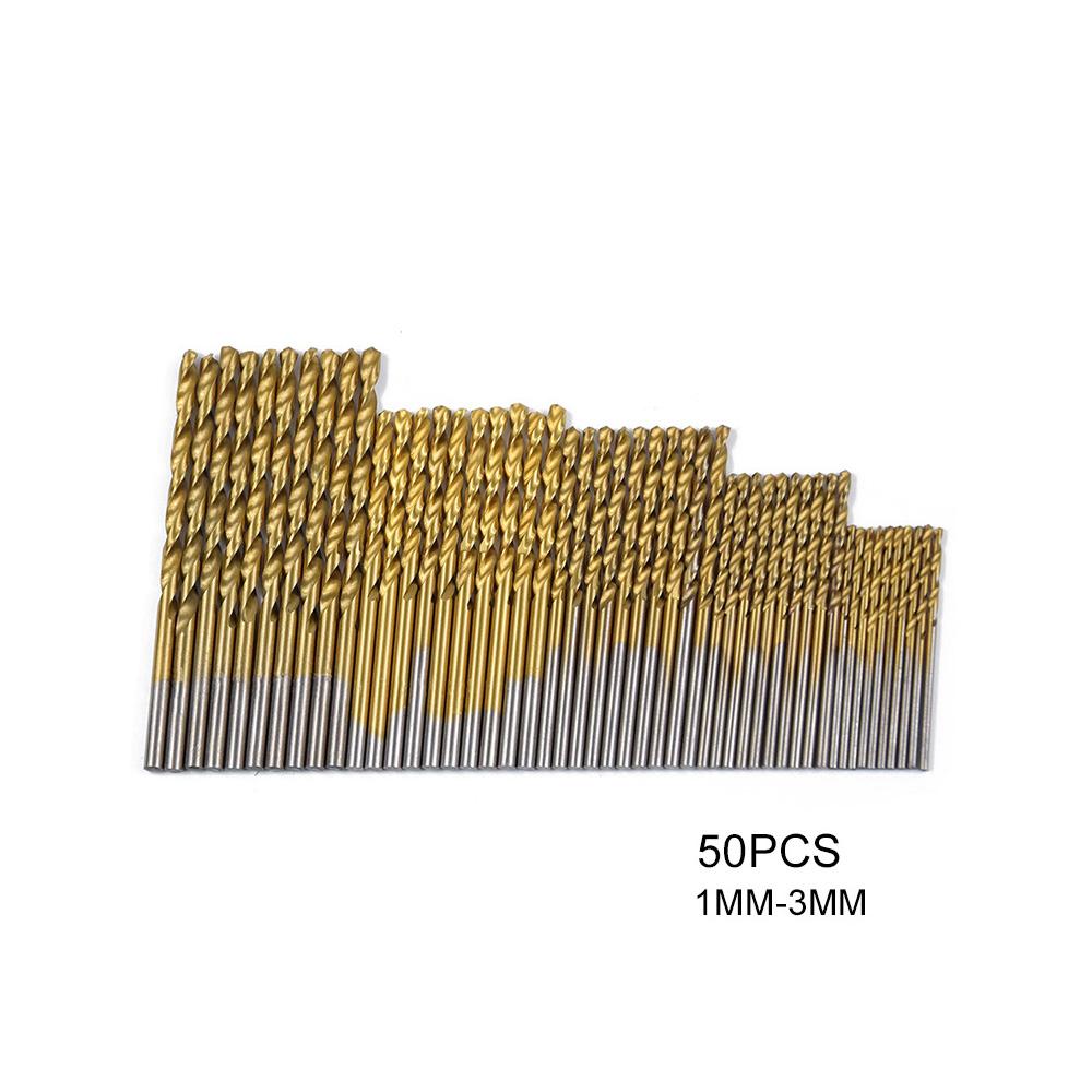 HSS-Micro-Drill-Bits-Set-High-Speed-Steel-Titanium-Metal-Twist-Drill-Bit-GOOD thumbnail 5