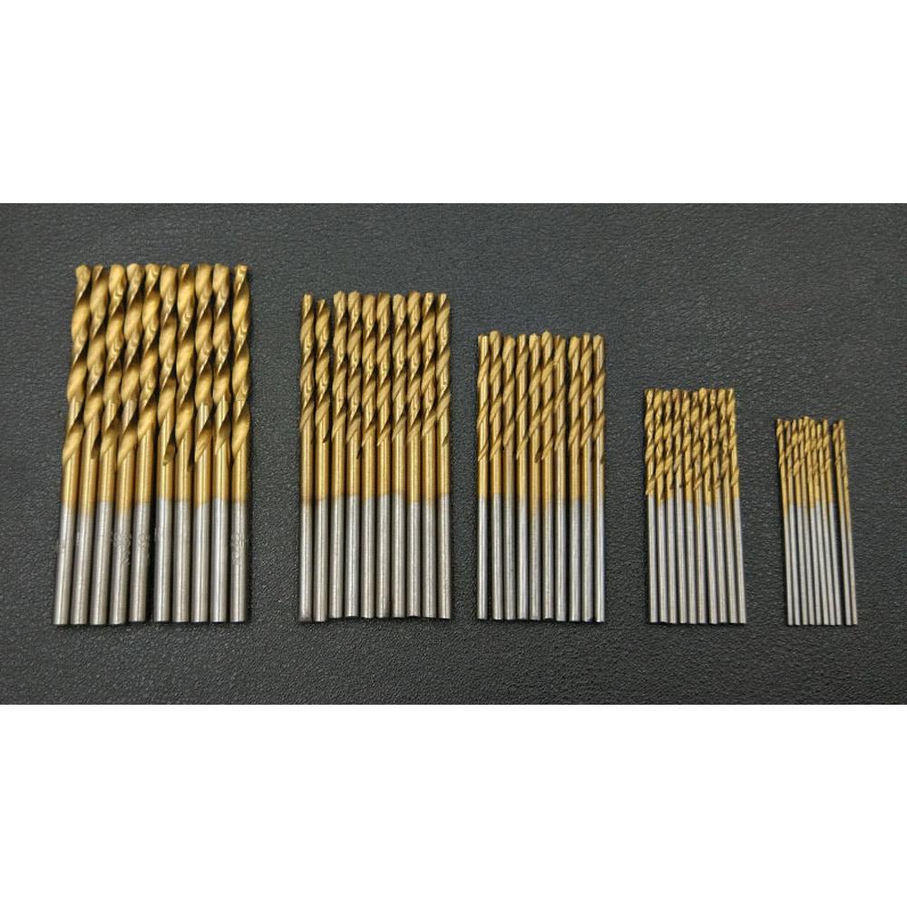 HSS-Micro-Drill-Bits-Set-High-Speed-Steel-Titanium-Metal-Twist-Drill-Bit-GOOD thumbnail 6