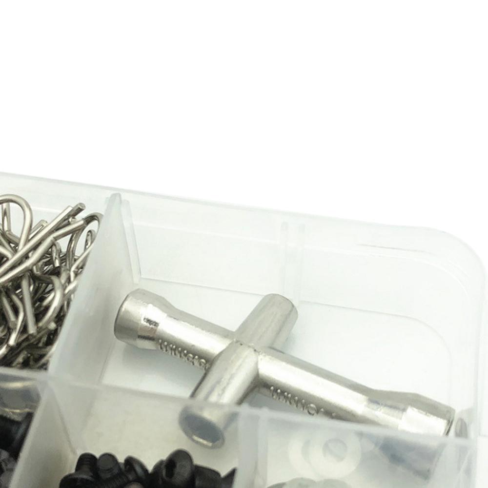 Screws Nut Repair Tool Set Kit for 1/10 HSP RC Car DIY Accessory 241in1