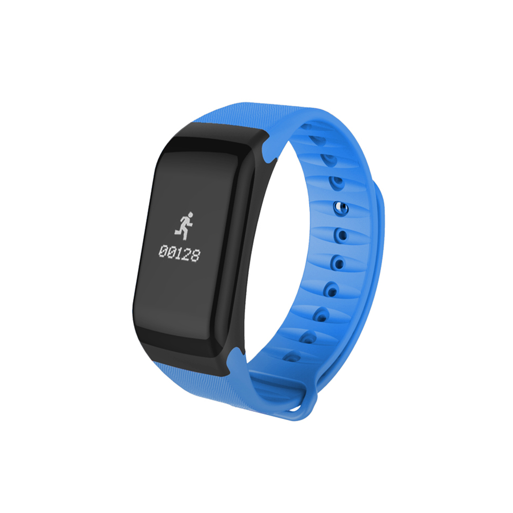 Wholesale Smart Touch Fitness Tracker Wireless Bluetooth Activity Track Watch Blue