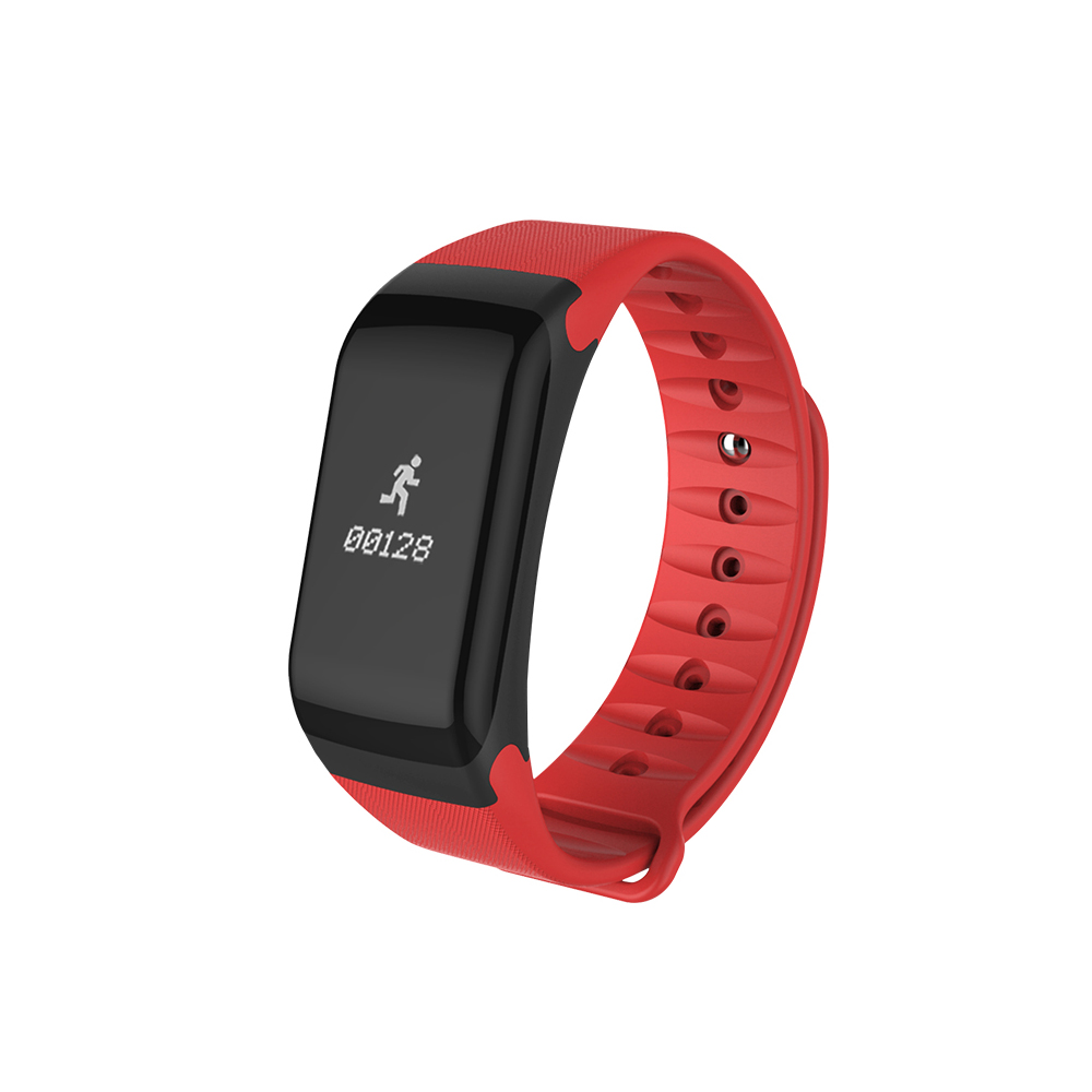 Wholesale Smart Touch Fitness Tracker Wireless Bluetooth Activity Track Watch Red