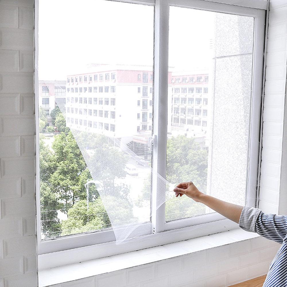 Magnetic Window Mesh Door Curtain Snap Net Guard Mosquito
