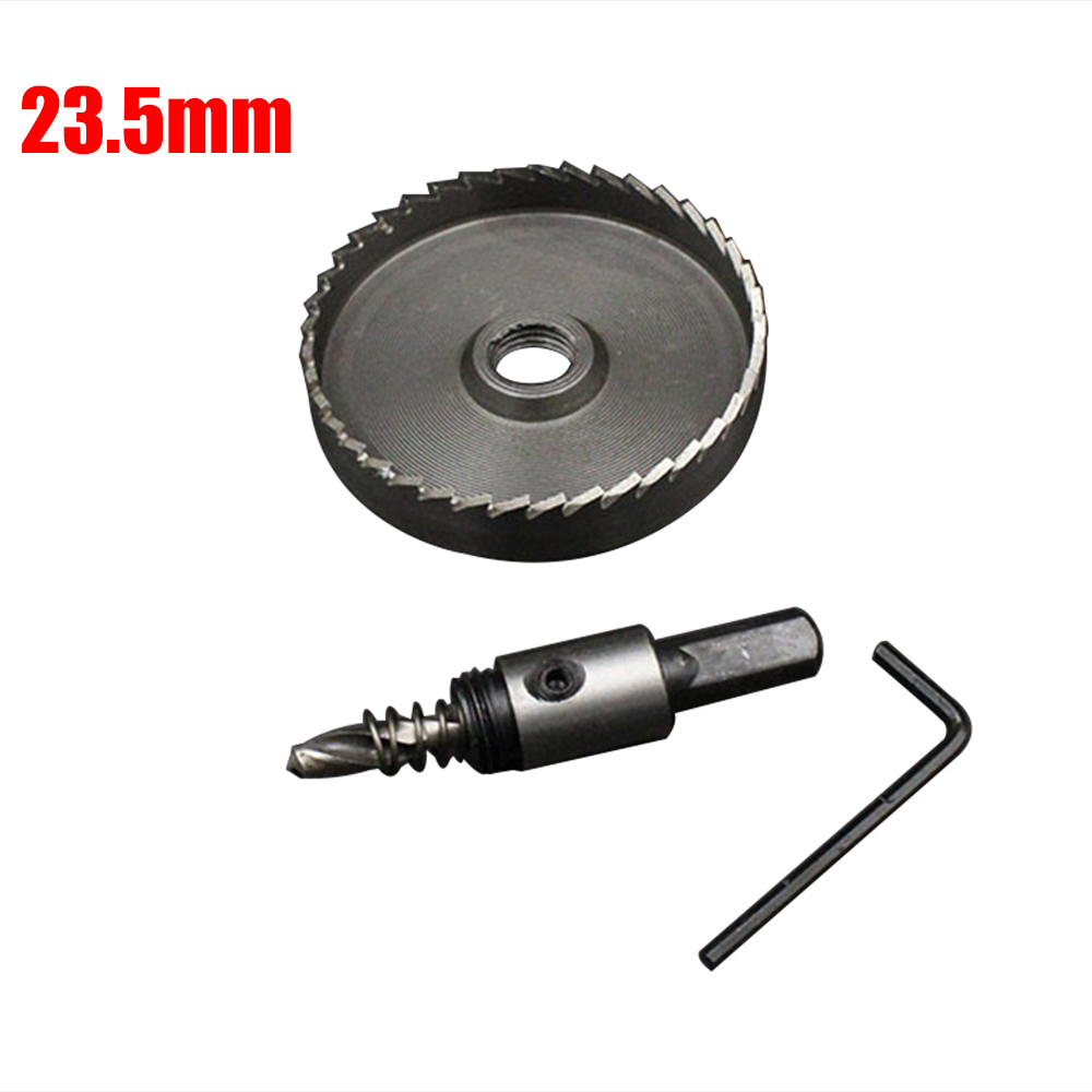 23-80mm HSS Holesaw Metal Hole Saw Drill Bit Stainless Steel Cutter Tool
