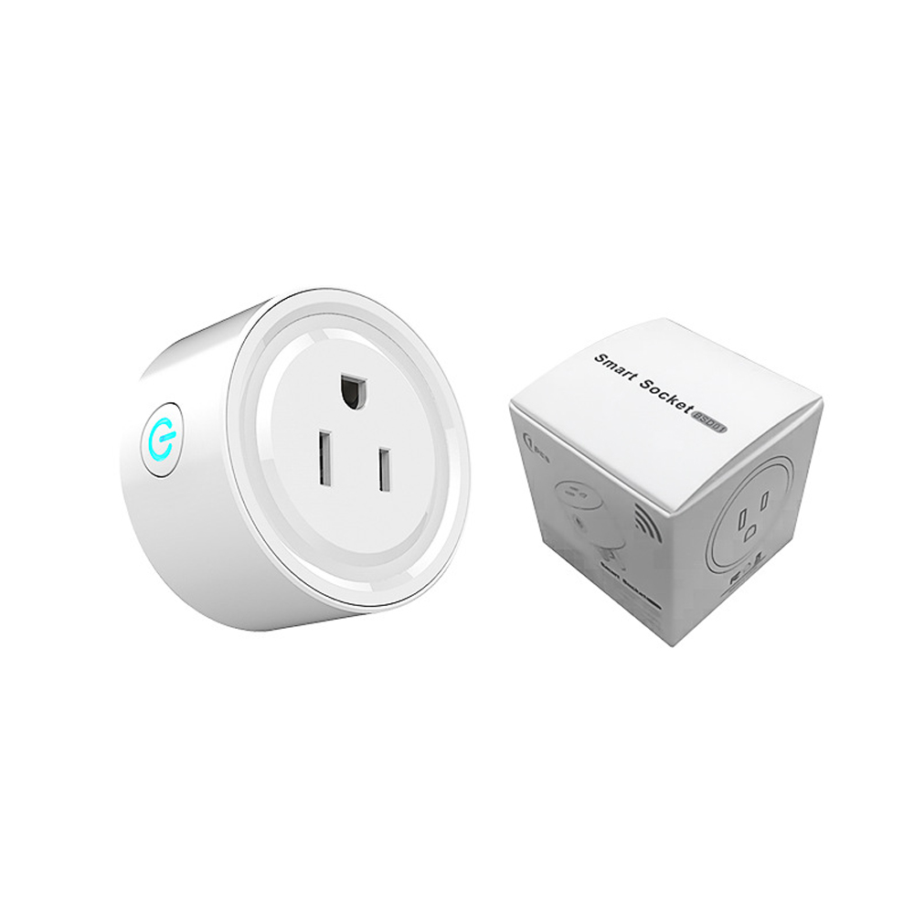 Remote Control Wifi Smart Power Socket Mini Switch Timer Outlet US Plug