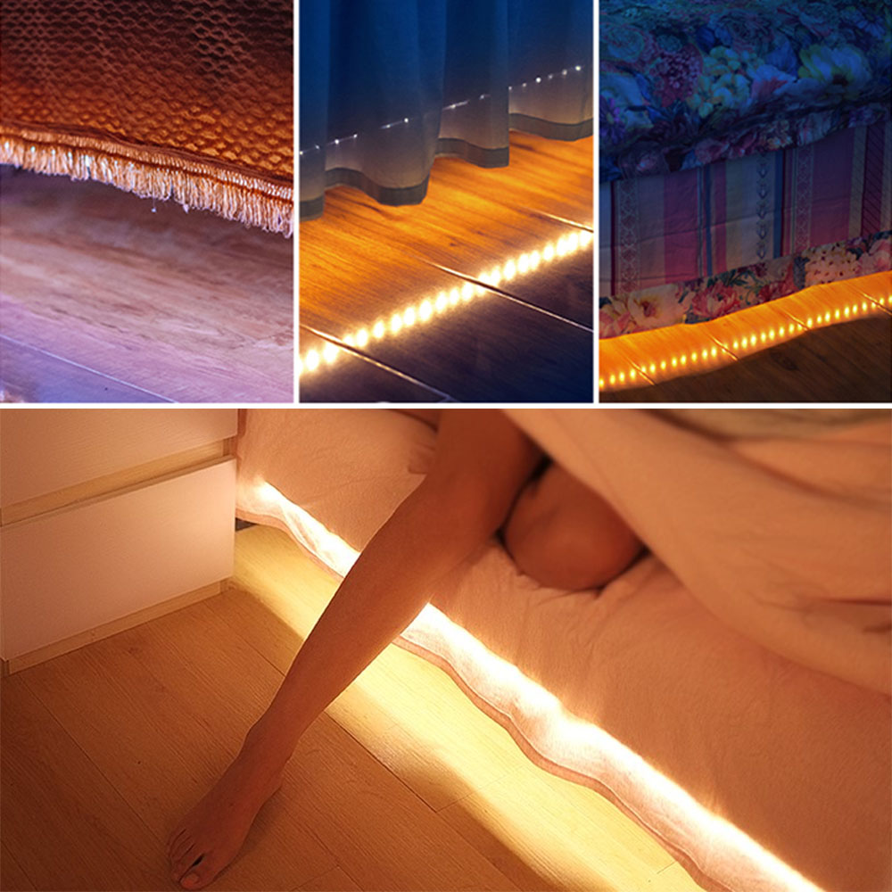 Wholesale DC5V 2835SMD Underbed Closet Waterproof 120LED Strip Light Lamp 3M White