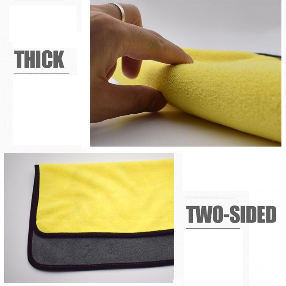 Super Absorbent Car Wash Coral Velvet Towel Cleaning