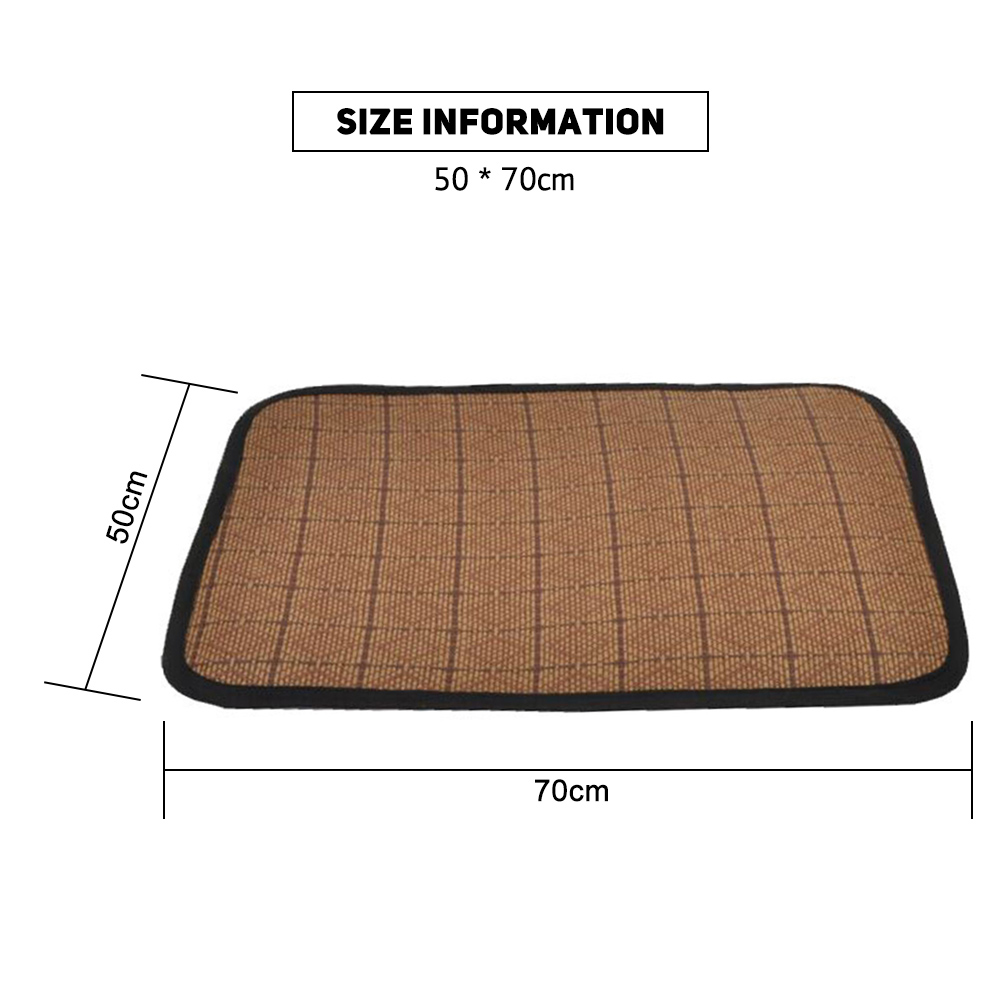 Summer-Breathable-Mat-Hot-Cooling-Pad-Bed-for-Dogs-Cats-Rectangle-Blanket thumbnail 10