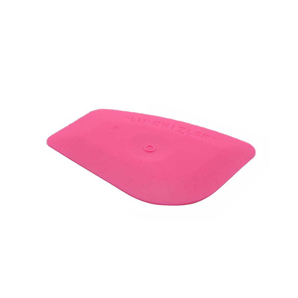 Mini Pink Scraper Car Cleaning Window Film Squeegee Tint Tool Decal Sticker
