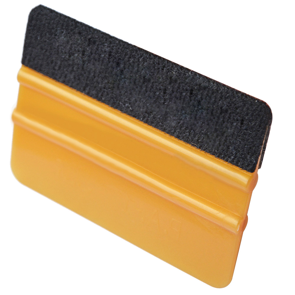Car Film Wrap Squeegee Scraper Glass Window Cleaning Washer Brush Tool