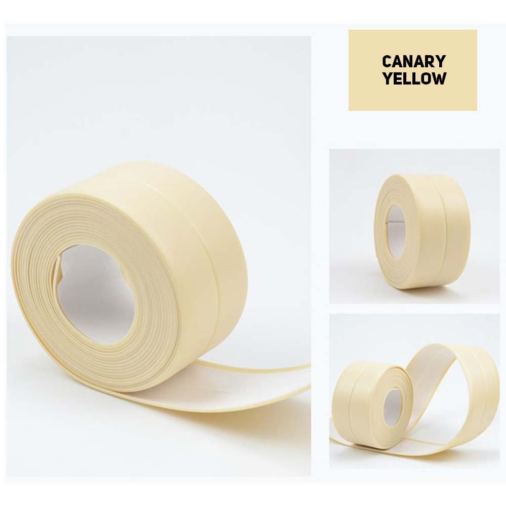 Self Adhesive Waterproof Anti-moisture PVC Tape Wall Corner Caulk Sticker