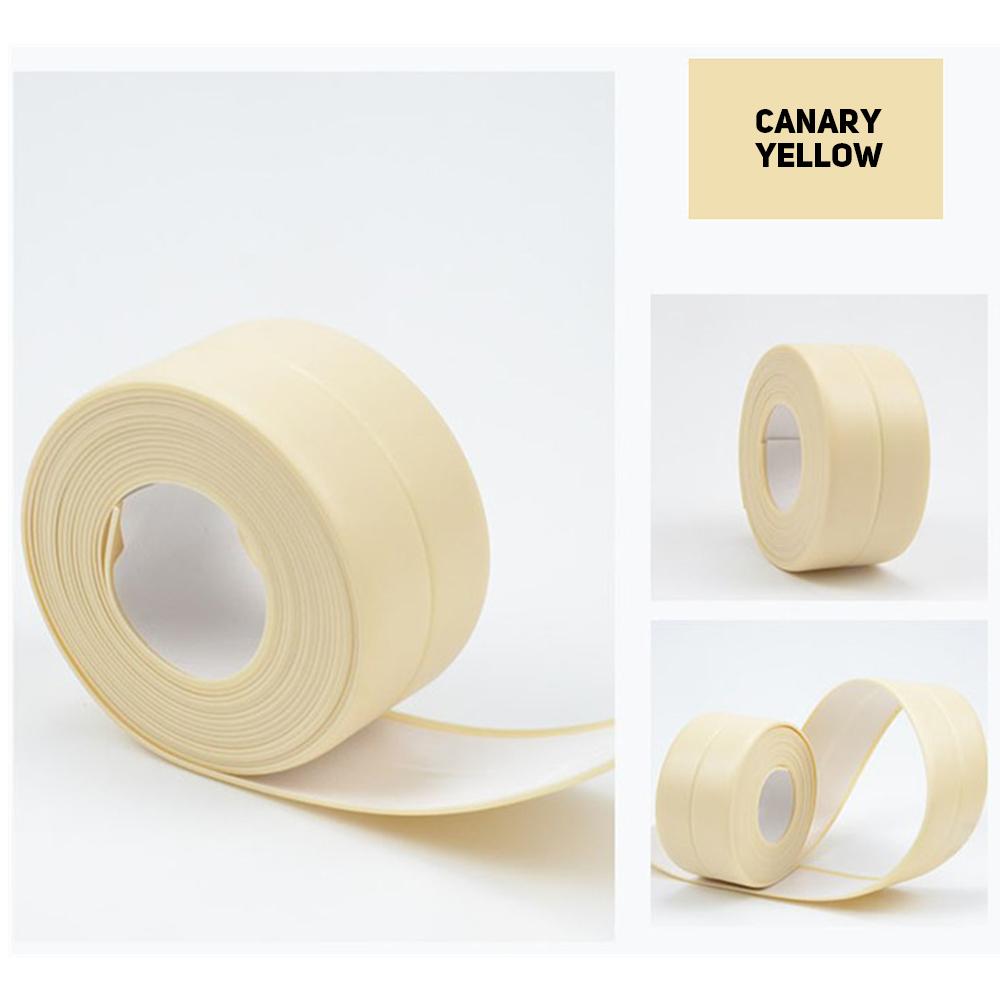 Self Adhesive Waterproof Anti-moisture PVC Tape Wall Corner Caulk Sticker