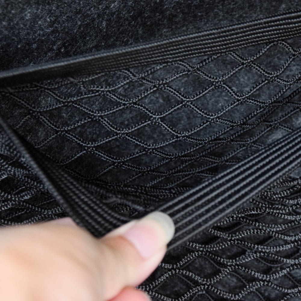 Car Trunk Box Storage Bag Mesh Net Bag Luggage Holder Organizer Pocket