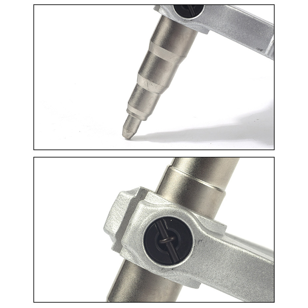 Copper Pipe Tube Expander Stainless Steel Mandrel Manual Expanding Tool Swaging Tool Universal Hand Refrigeration Tools Copper Pipe for Air Conditioner Refrigeration Install Maintain Repair