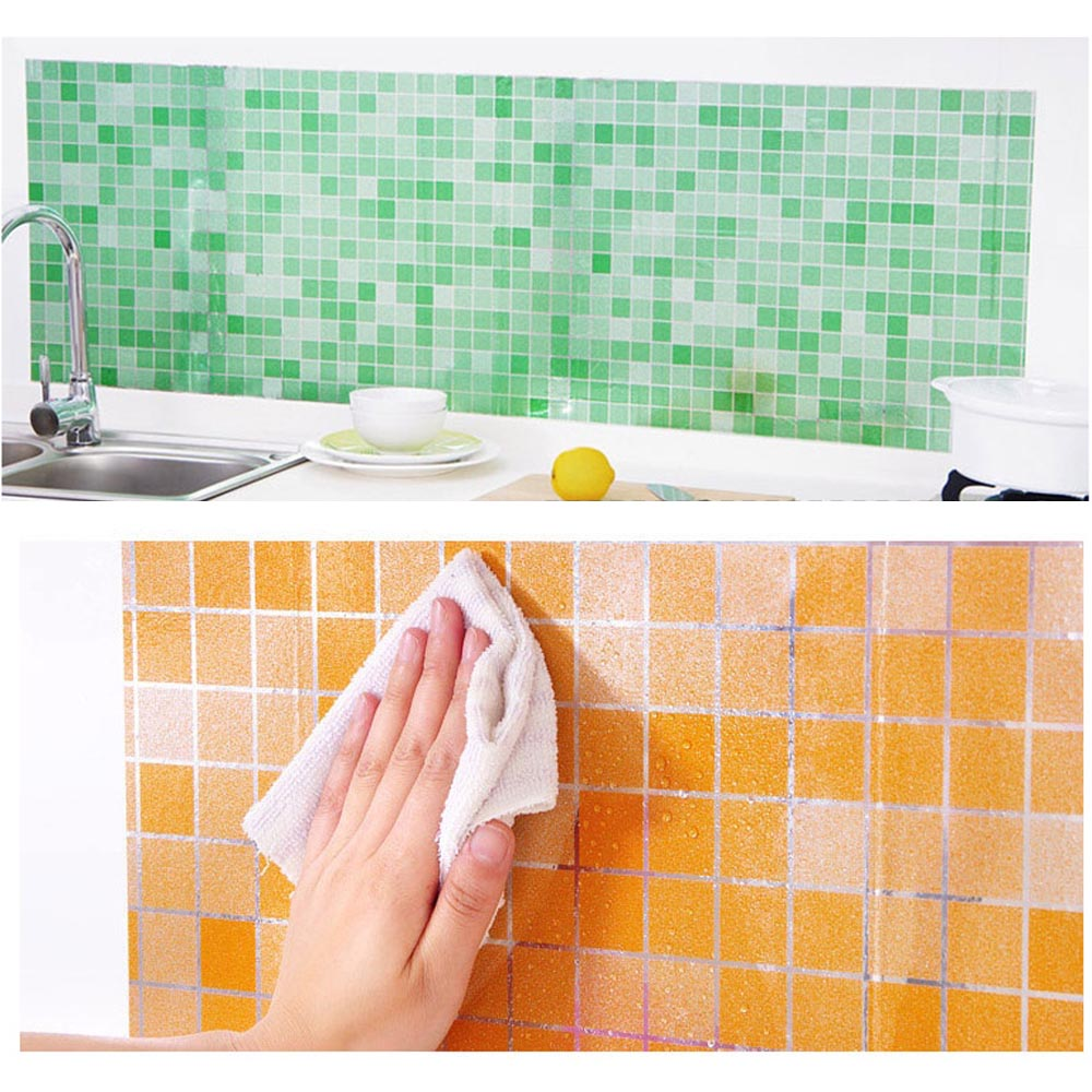 k che badezimmer selbstklebende tapete wasserdichte folie aufkleber anti l wrap ebay. Black Bedroom Furniture Sets. Home Design Ideas