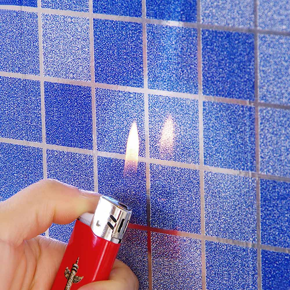 Badezimmer Selbstklebende Küche Tapetenpapier wasserdichte Wandfolie AufkleberX1
