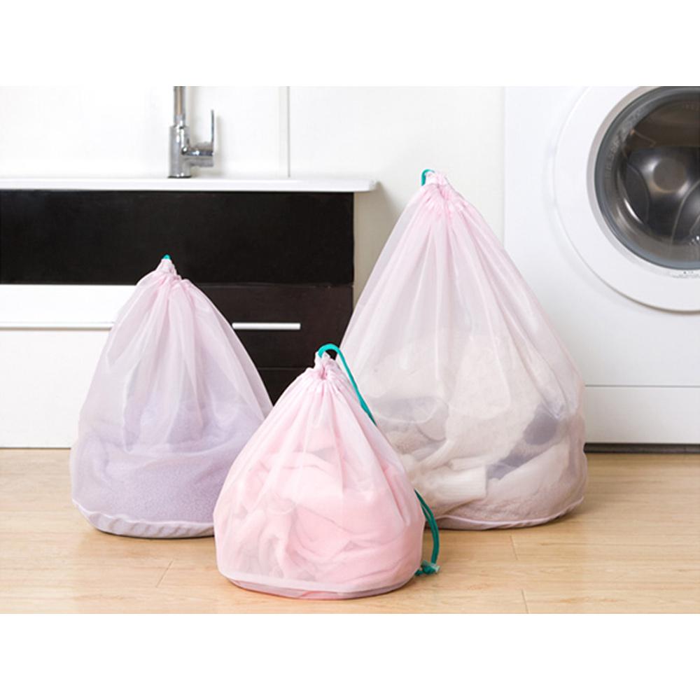 3pc-Set-Loose-Mesh-Laundry-Bag-Basket-For-Bra-Underwear-Clothes-Lingerie-D thumbnail 8