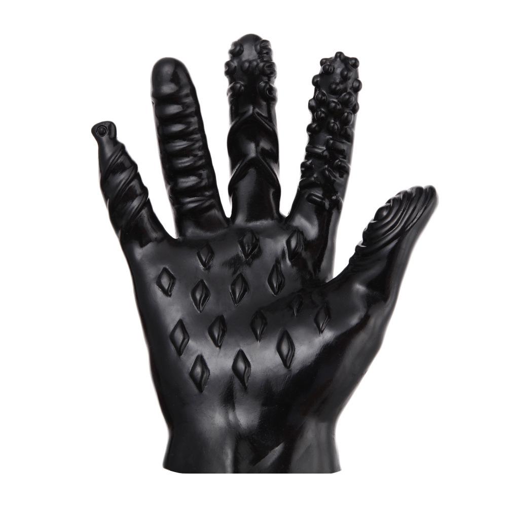 Massage Full Finger Glove Mitten Couple Sex Toy Christmas Halloween Gift