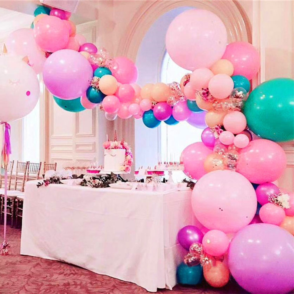 Details About Balloon Connect Chain Wedding Party Balloon Decor Strip Arch Clip Holes Link Aid