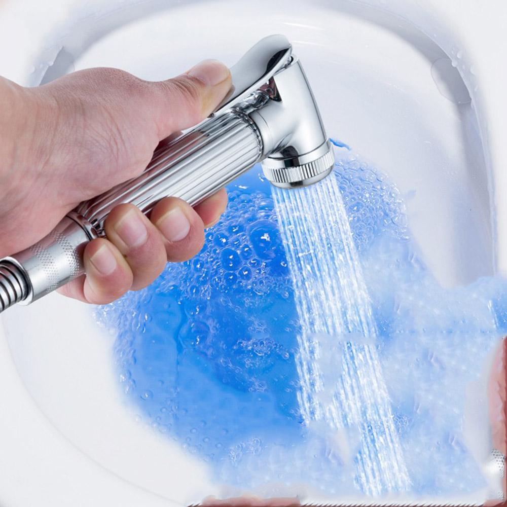 Handheld Pressuried Bathroom Bath Water-saving Toilet Shower Sprayer Head