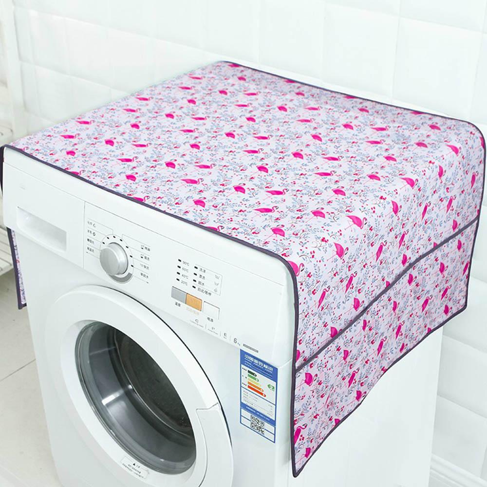 Washing Machine Refrigerator Waterproof Dust Dirt Cover W/Storage Bag