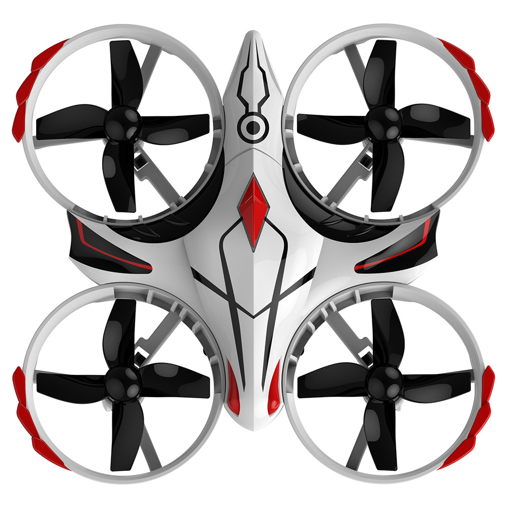 Wholesale 2.4G T2 Portable IR Infrared RC Remote Control Drone Helicopter Toy White