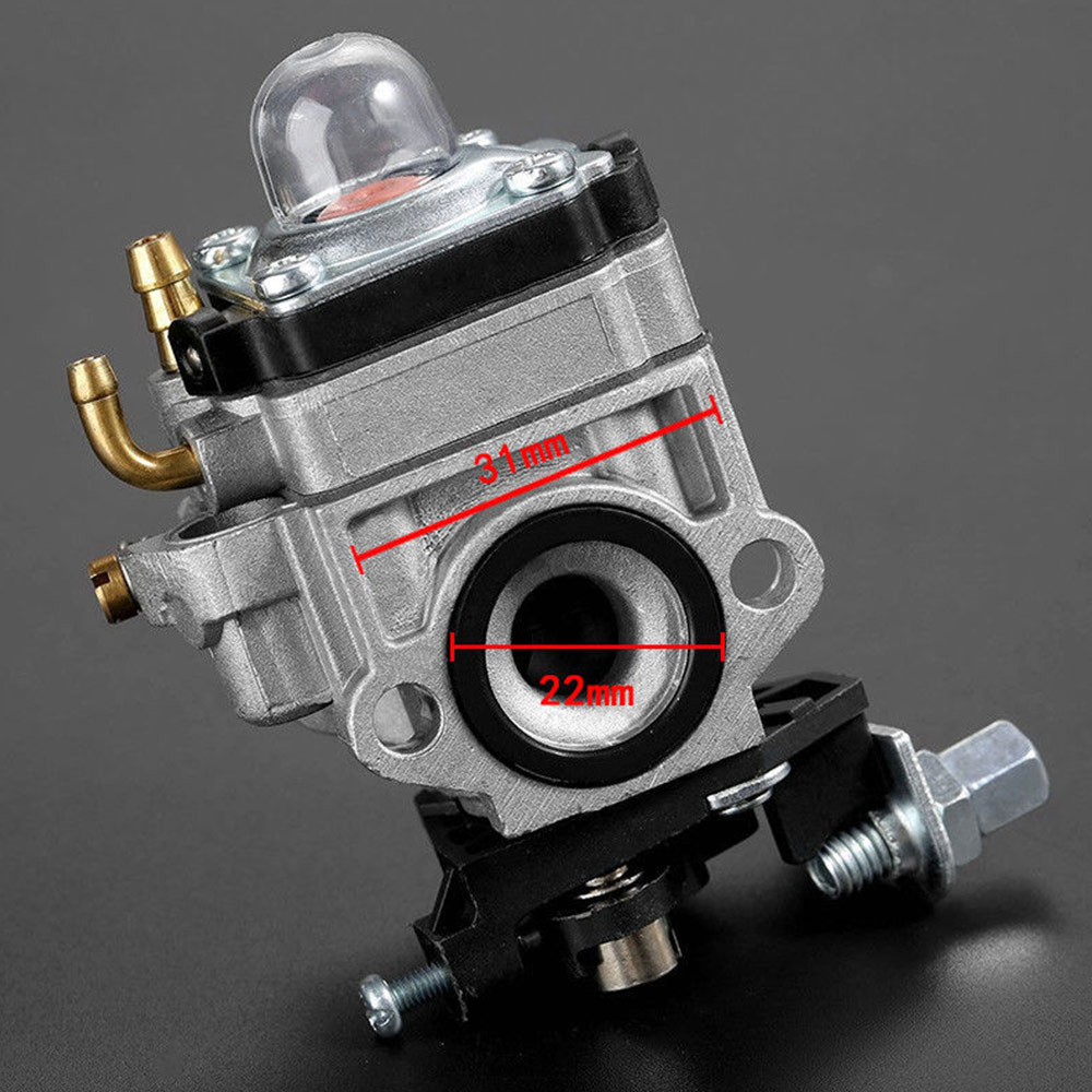 Carburetor Fit for Lawnmower H119 26cc Engine Carb